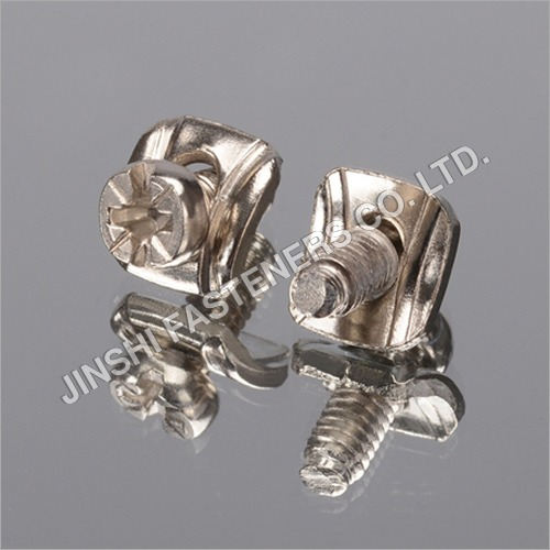 Nickel Plated Sems Screw