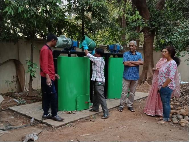 Eco Friendly Composting Machine