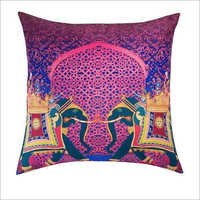 Digital Printed Jute Cushion Cover
