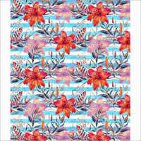 Multicolor Digital Printed Fabric