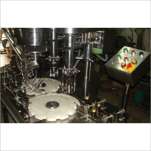 Twin Head ROPP Eye Drop Filling Machine