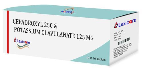 Cefadroxyl and Potassium Clavulanic Acid tablets