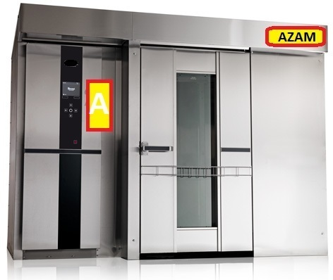 Gas Fired Rotary Rack oven
