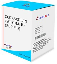 Cloxacilline 500 mg capsules