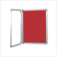 Deluxe Door Cover Notice Board