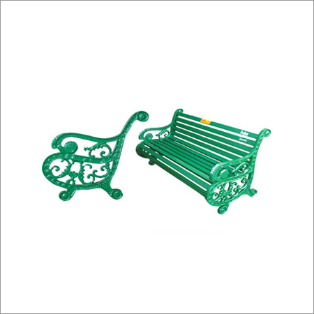 Victoria Metal Bench And Chair
