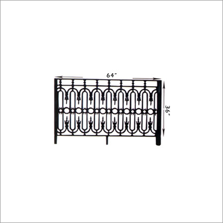 Anarkali cast iron Grill