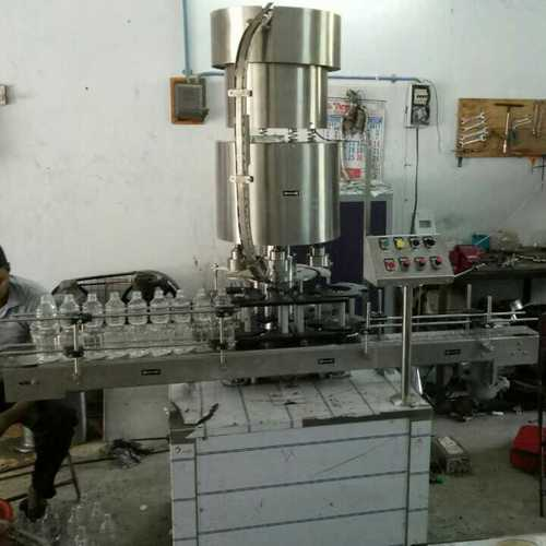 Automatic Four Head Screw Capping Machine