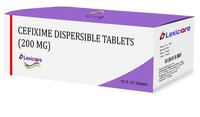 Cefixime Dispersible Tablets 200mg
