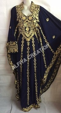 Evening Party Wear Exclusive Kaftan Farasha Dress