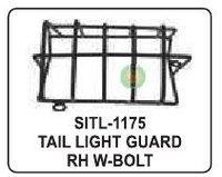 Tail Light Guard Rh W Bolt