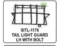 Tail Light Guard Lh With Bolt