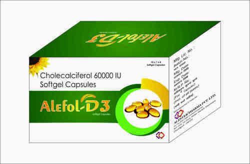 CHOLECALCIFEROL 60000 IU SOFTGEL CAPSULE