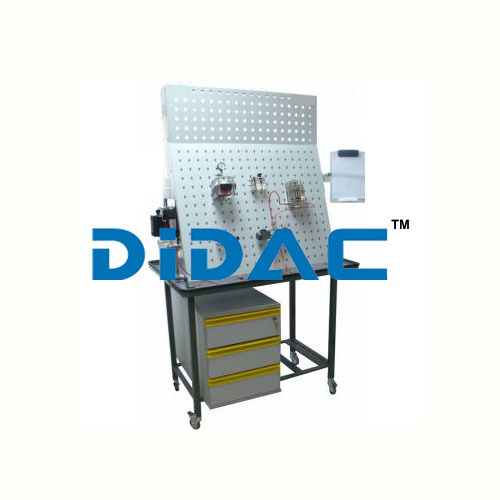 Hydraulic Bench with Transparent Components