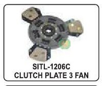 Clutch Plate 3 Fan