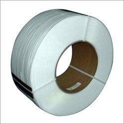 White Heat Sealing Strap Roll