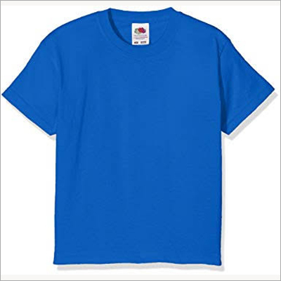 Round Neck Blue t Shirt