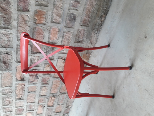 Cross Back Metal chair