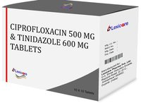 Ciprofloxacin and Tinidazole Tablets