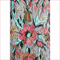 Multi Color Thread Embroidery