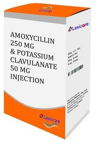 Amoxycillin and Potassium Clavulanic Acid Injection