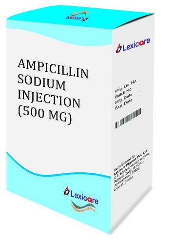 Ampicillin Sodium Injection 500mg