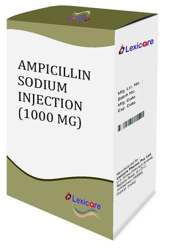Ampicillin Sodium 1000mg Injection