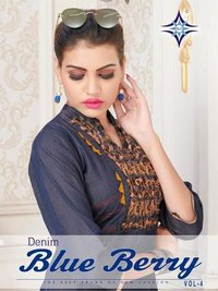 New Designers Denim Kurtis