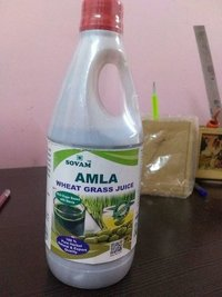 Amla wheatgrass juices