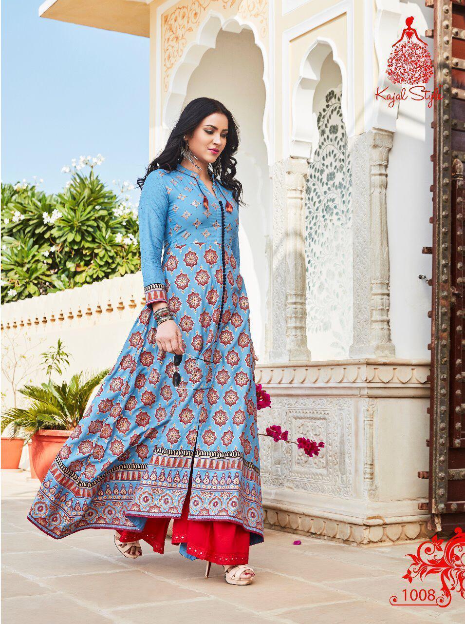 Heavy Designer Kajal Style Kurtis