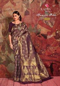 Golden Silk Sarees