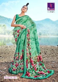 Fancy Georgette Sarees