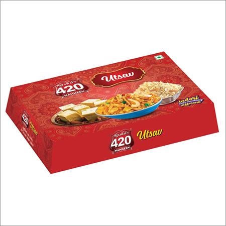 700GM Bhujiya Gift Packaging box