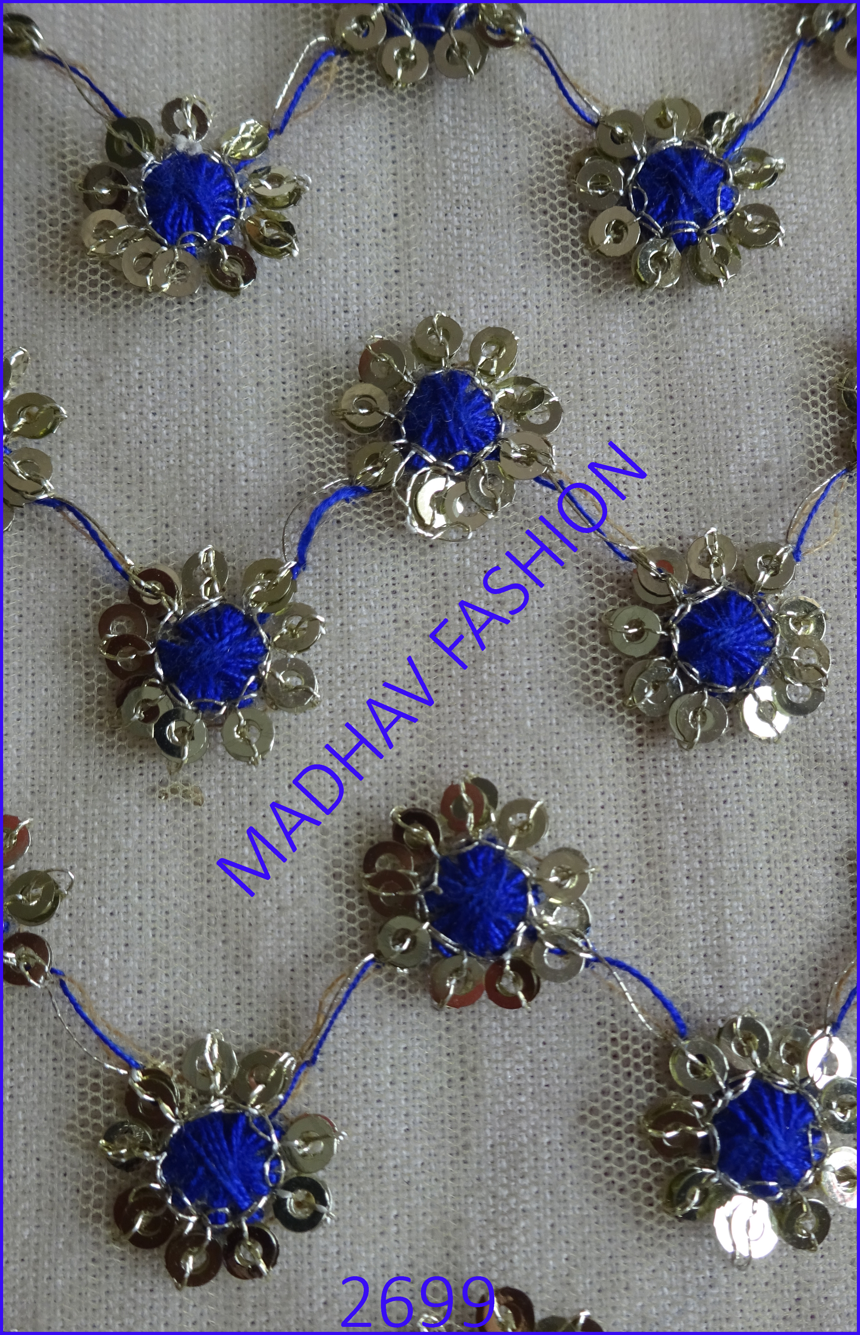 Sequence With Embroidery