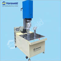 Ultrasonic Cylinder Tube Bottom Lid Welding Machine