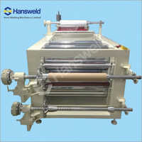Auto Plastic PVC Sheet Decurling And Cutting Machine