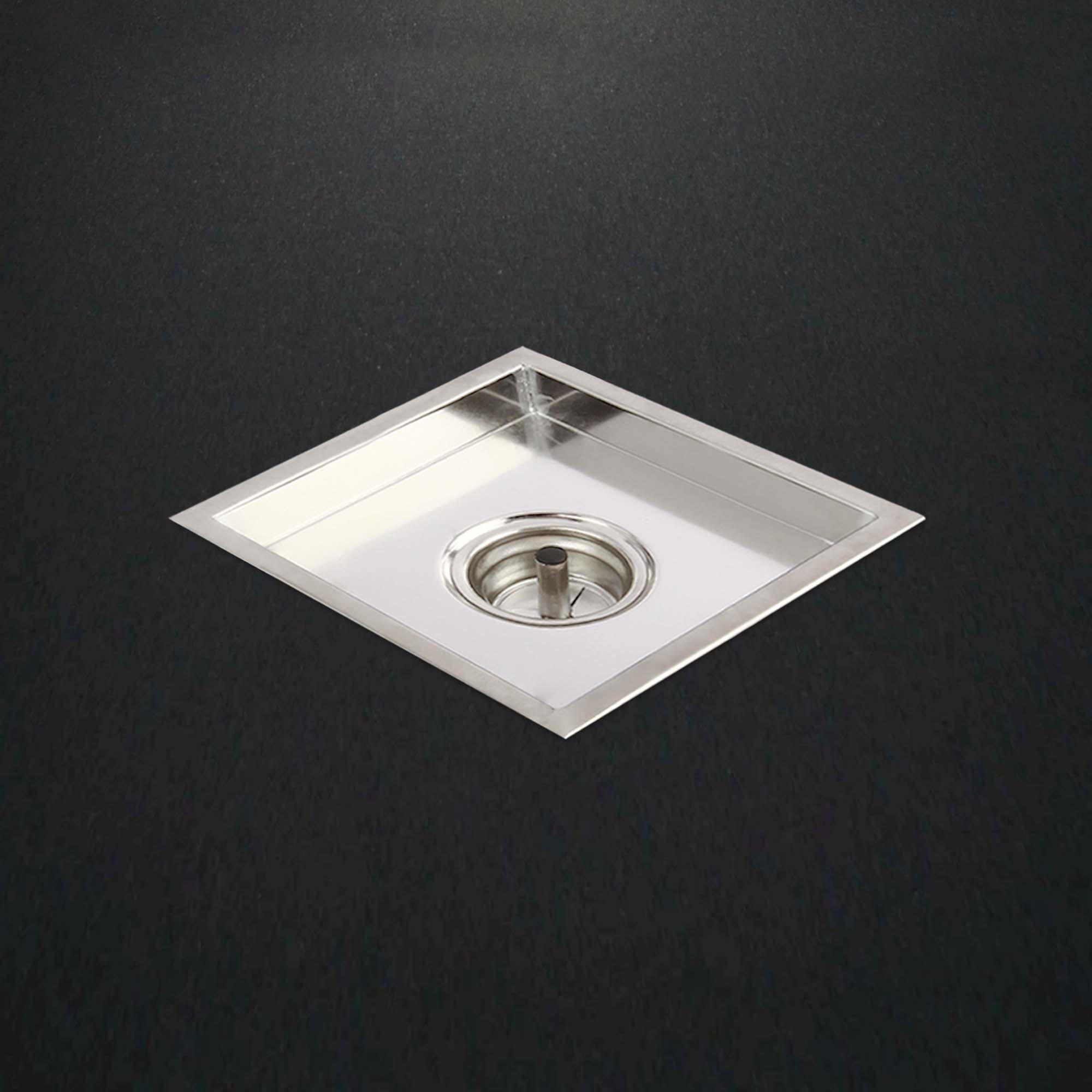 Square Insert Tile Channel Drain