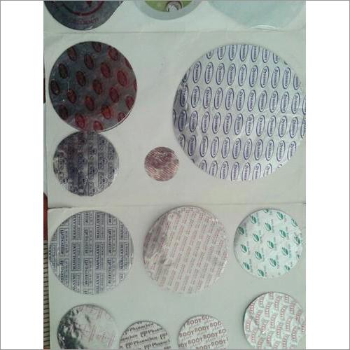Printed Aluminum Jar Seal