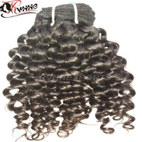 Wave Curly Human Virgin Cuticle Aligned Indian Hair Extensions