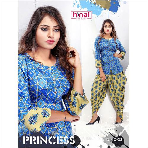 Ladies Designer Dhoti Salwar Suit