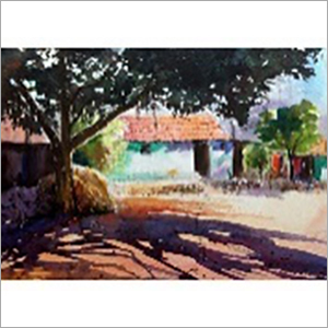 Water Color Canvas with Frame