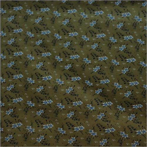 Flower Printed Cotton Cloth Fabric