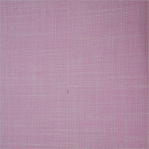 Plain Cotton Linen Shirting Fabric