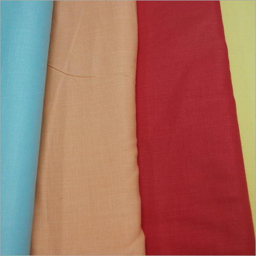 Plain Linen Shirting Fabric