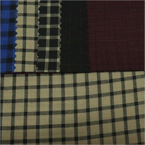 Checked Shirt Fabric