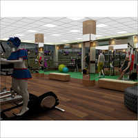 Modern Gym Interior Decoration Service