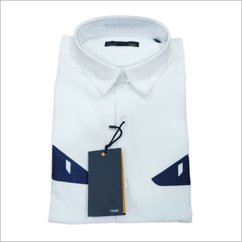Mens Plain White Shirts