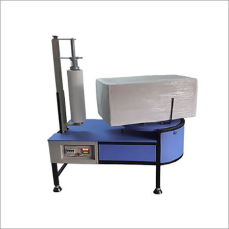 Semi Automatic Box Stretch Wrapping Machine