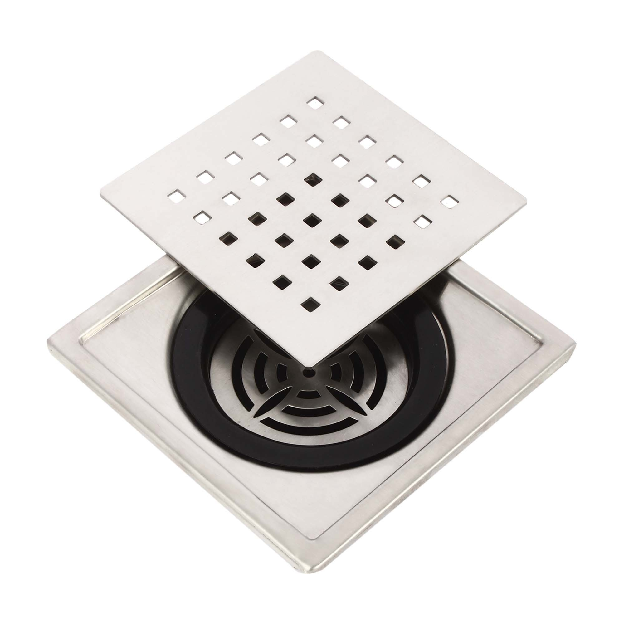 Square Floor Grating With pvc Trap