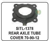 Rear Axle Tube Cover